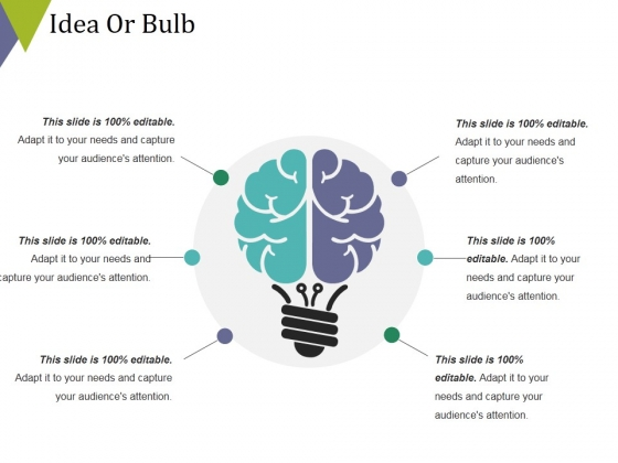 Idea Or Bulb Ppt PowerPoint Presentation Slides Ideas