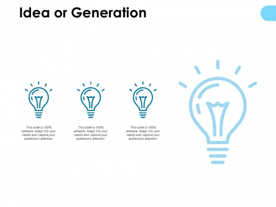 Idea Or Generation Technology Ppt PowerPoint Presentation Outline Example