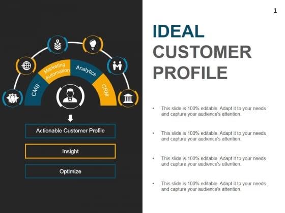 Ideal Customer Profile Template 1 Ppt PowerPoint Presentation Portfolio