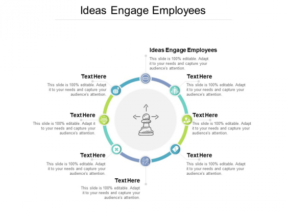 Ideas Engage Employees Ppt PowerPoint Presentation Layouts Design Ideas Cpb