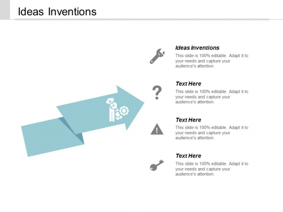 Ideas Inventions Ppt Powerpoint Presentation File Designs