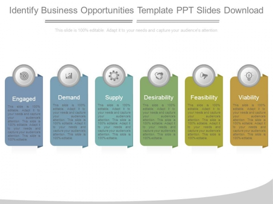 Identify Business Opportunities Template Ppt Slides Download
