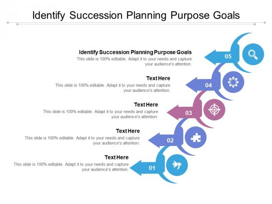 Identify Succession Planning Purpose Goals Ppt PowerPoint Presentation Gallery Master Slide Cpb