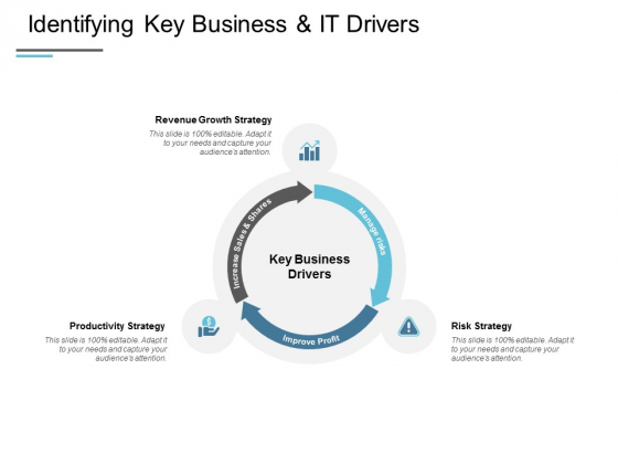 Identifying Key Business And IT Drivers Ppt PowerPoint Presentation Infographics Display
