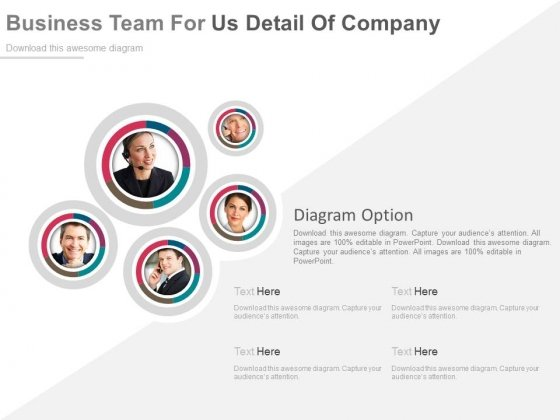 Illustration Of Customer Support Team Powerpoint Slides
