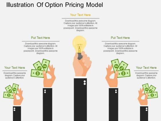 Illustration Of Option Pricing Model Powerpoint Template