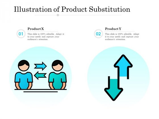Illustration Of Product Substitution Ppt PowerPoint Presentation Show Icon PDF