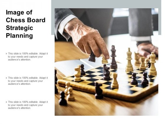 Image Of Chess Board Strategic Planning Ppt PowerPoint Presentation Model Graphic Images