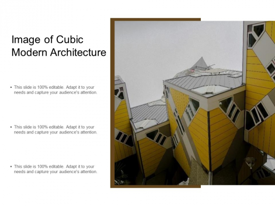Image Of Cubic Modern Architecture Ppt PowerPoint