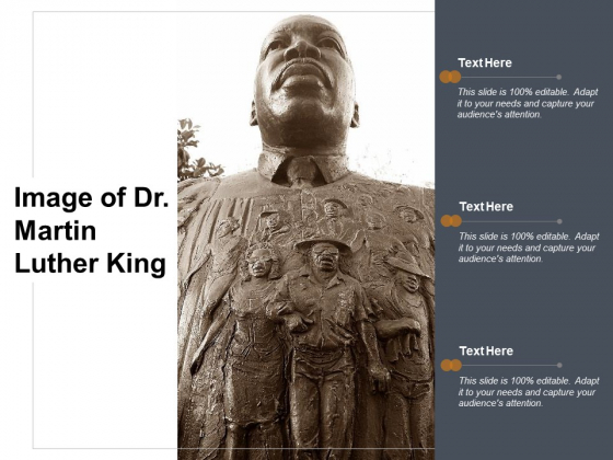 Image Of Dr Martin Luther King Ppt PowerPoint Presentation File Format