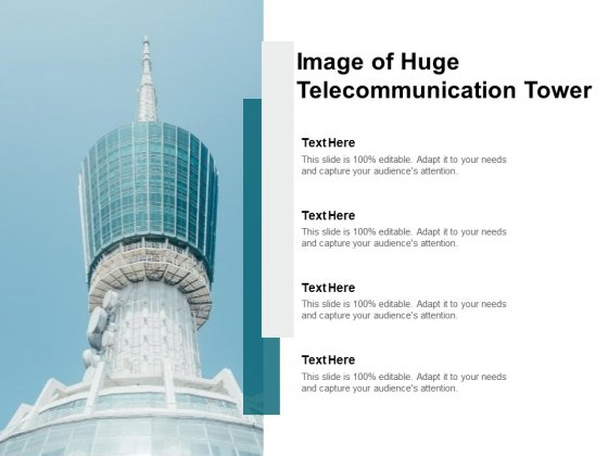 Image Of Huge Telecommunication Tower Ppt PowerPoint Presentation Gallery Slide