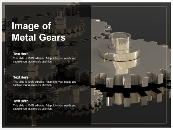 Image Of Metal Gears Ppt PowerPoint Presentation Model Template