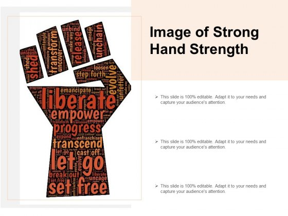 Image Of Strong Hand Strength Ppt PowerPoint Presentation Infographics