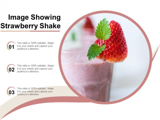 Image Showing Strawberry Shake Ppt PowerPoint Presentation Show Outline PDF