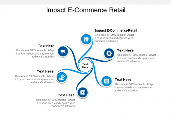 Impact E Commerce Retail Ppt PowerPoint Presentation Infographic Template Rules Cpb