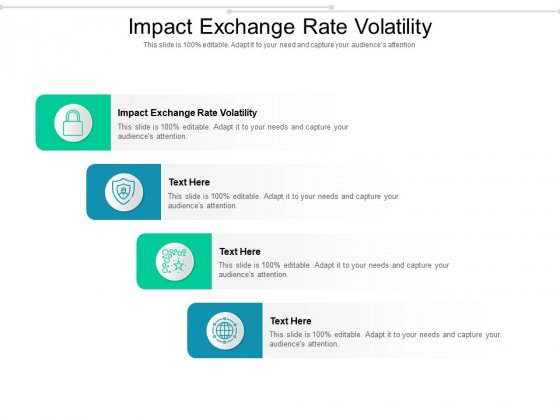 Impact Exchange Rate Volatility Ppt PowerPoint Presentation Inspiration Format Cpb Pdf