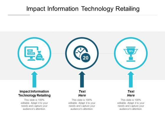 Impact Information Technology Retailing Ppt PowerPoint Presentation Show Skills Cpb