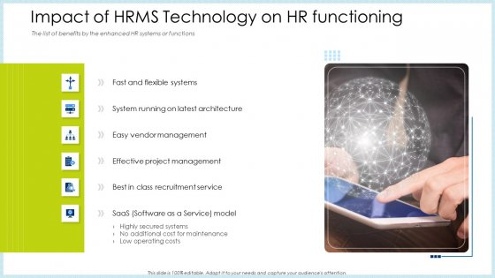 Impact_Of_HRMS_Technology_On_HR_Functioning_Ppt_Pictures_Graphics_Template_PDF_Slide_1
