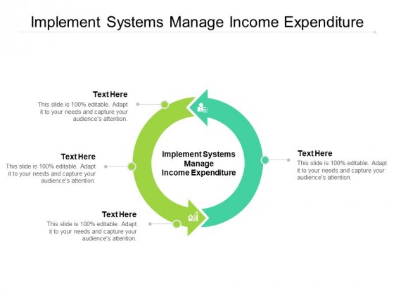 Implement Systems Manage Income Expenditure Ppt PowerPoint Presentation Outline Designs Download Cpb Pdf