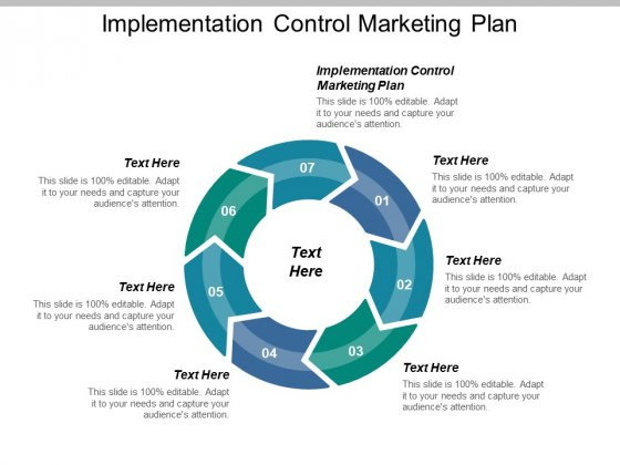Implementation Control Marketing Plan Ppt PowerPoint Presentation Model Examples