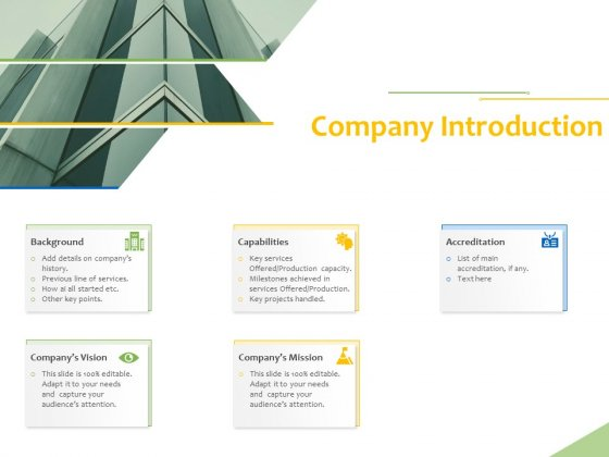 Implementation Of Risk Mitigation Strategies Within A Firm Company Introduction Ppt Show Good PDF