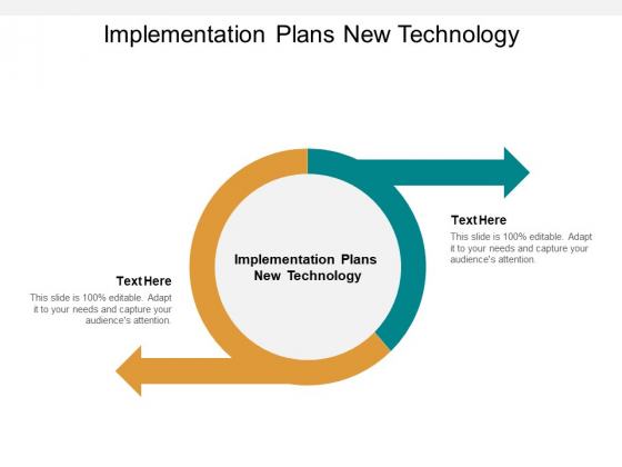 Implementation Plans New Technology Ppt PowerPoint Presentation Visual Aids Model Cpb