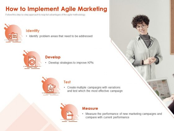 Implementing Agile Marketing In Your Organization How To Implement Agile Marketing Ppt Portfolio Graphics Pictures PDF