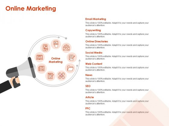 Implementing Agile Marketing In Your Organization Online Marketing Ppt Outline Deck PDF