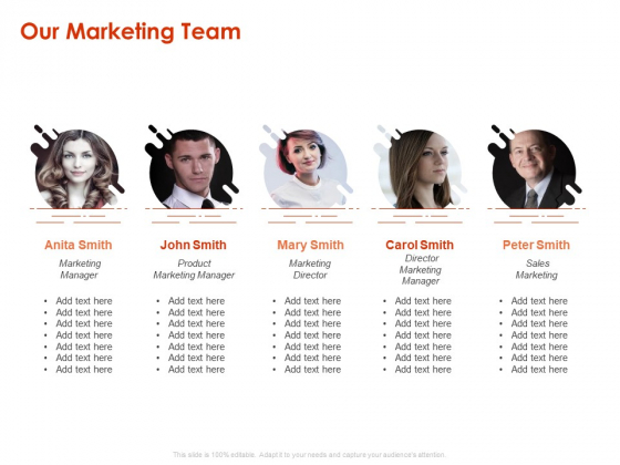 Implementing Agile Marketing In Your Organization Our Marketing Team Ppt Ideas PDF