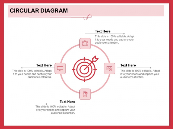 Implementing Compelling Marketing Channel Circular Diagram Ppt PowerPoint Presentation Outline Objects PDF