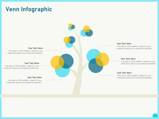 Implementing Service Level Management With ITIL Venn Infographic Icons PDF