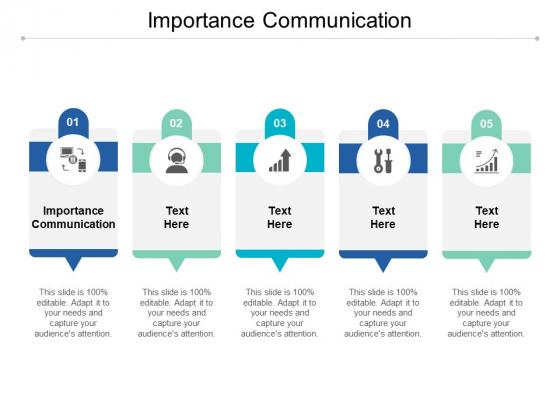 Importance Communication Ppt PowerPoint Presentation Layouts Skills Cpb