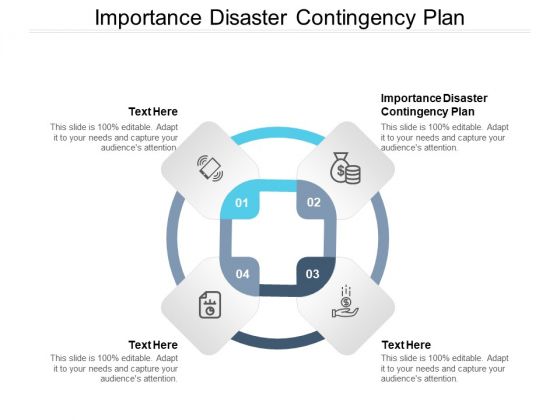 Importance Disaster Contingency Plan Ppt PowerPoint Presentation Layouts Layout Cpb Pdf