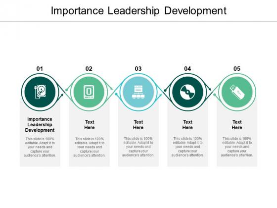 Importance Leadership Development Ppt PowerPoint Presentation Styles Slide Download Cpb
