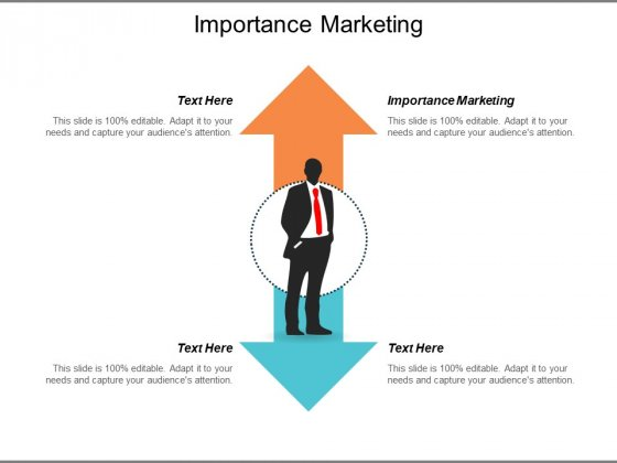 Importance Marketing Ppt PowerPoint Presentation Slides Samples Cpb
