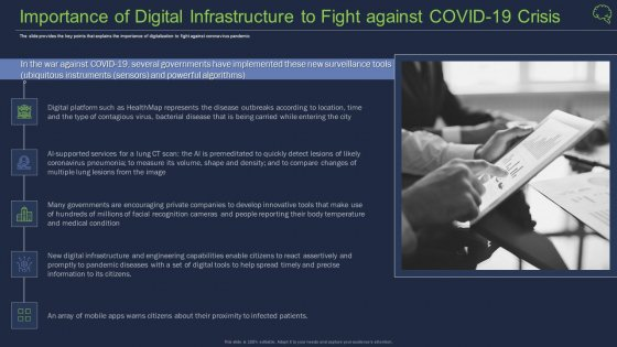 Importance Of Digital Infrastructure To Fight Against COVID 19 Crisis Download PDF