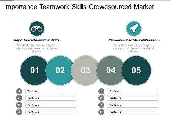 Importance Teamwork Skills Crowdsourced Market Research Event Marketing Ppt PowerPoint Presentation Infographics Graphics Design