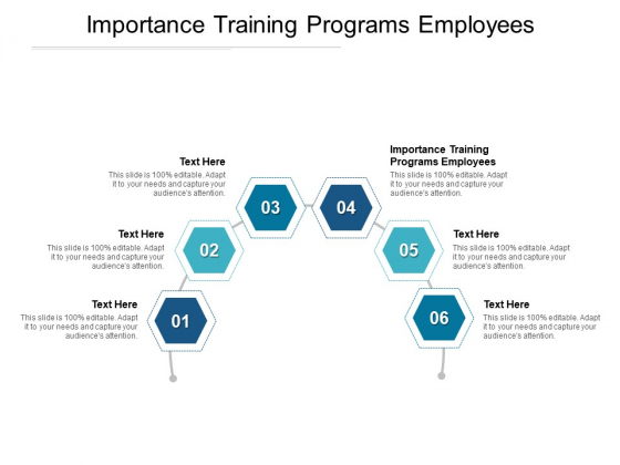 Importance Training Programs Employees Ppt PowerPoint Presentation Show Background Images Cpb Pdf