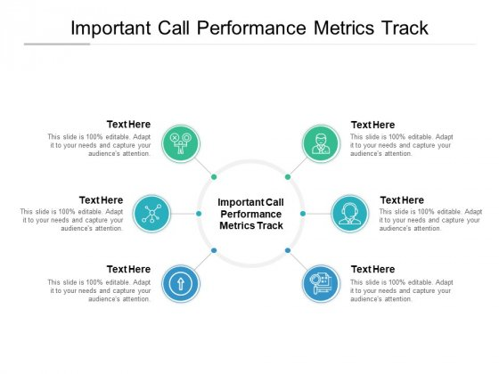 Important Call Performance Metrics Track Ppt PowerPoint Presentation Summary Guide Cpb Pdf