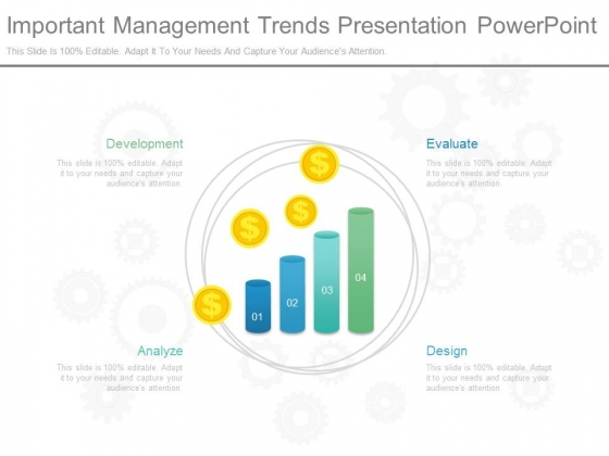 Important Management Trends Presentation Powerpoint