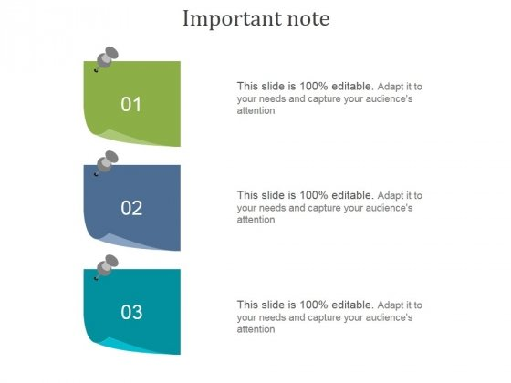 Important Note Ppt PowerPoint Presentation Background Image