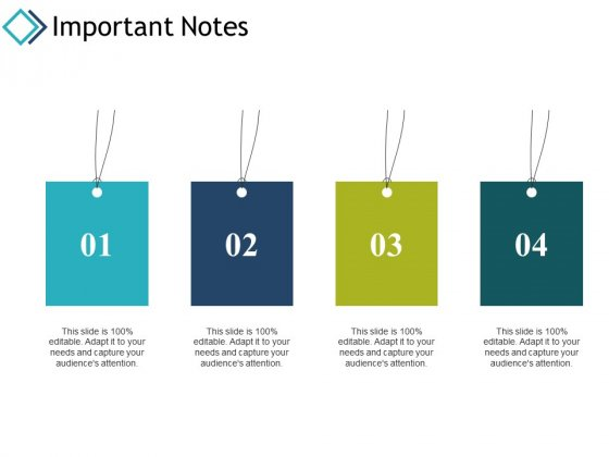 Important Notes Education Ppt PowerPoint Presentation Layouts Backgrounds