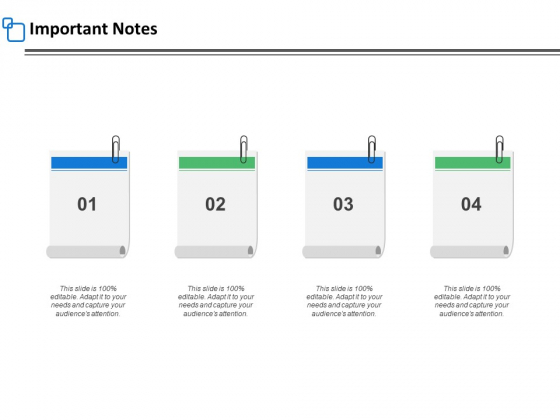 Important Notes Marketing Ppt PowerPoint Presentation Professional Design Templates
