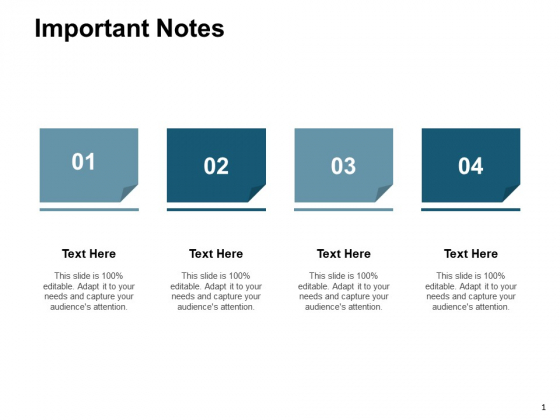 Important Notes Marketing Ppt PowerPoint Presentation Professional Styles