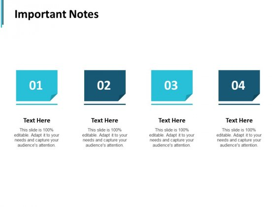 Important Notes Ppt PowerPoint Presentation Clipart