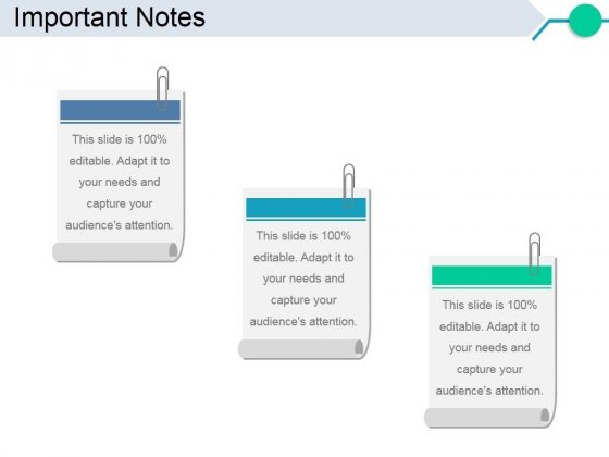 Important Notes Ppt PowerPoint Presentation Gallery Designs