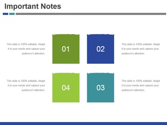 Important Notes Ppt PowerPoint Presentation Icon Backgrounds