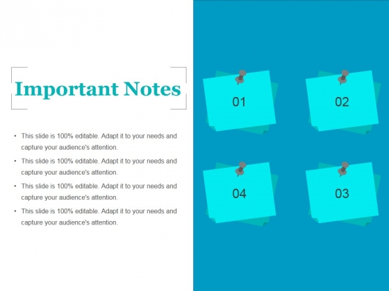Important Notes Ppt PowerPoint Presentation Infographics File Formats