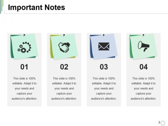 Important Notes Ppt PowerPoint Presentation Model Clipart