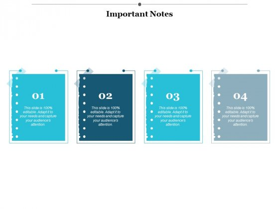 Important Notes Ppt PowerPoint Presentation Pictures Design Templates